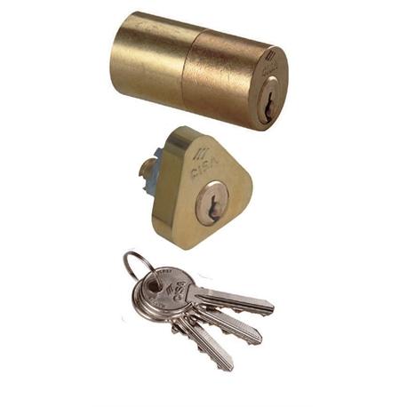 Sercisa02139 cisa cilindro tondo per serrature elettriche - Cilindro europeo cisa 5 chiavi ...