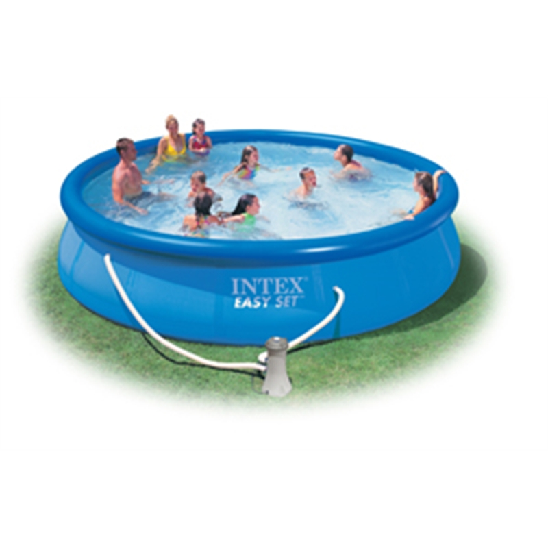 Vit28620 intex piscina tonda easy set autoportante con pompa filtro - Piscina intex tonda ...