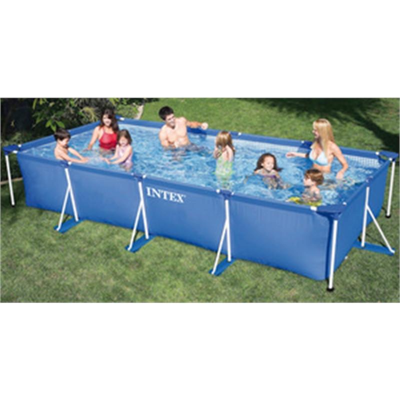 Vit27263 intex piscina rettangolare frame telaio - Accessori piscine intex ...